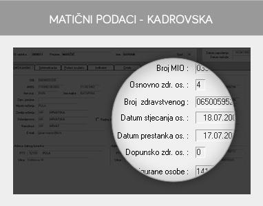 misH HRM - Kadrovska