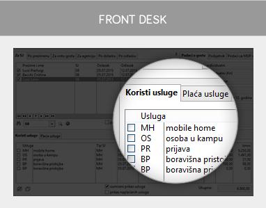 miniREC - Front desk