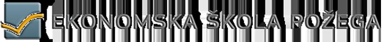 Ekonomska skola Pozega logo